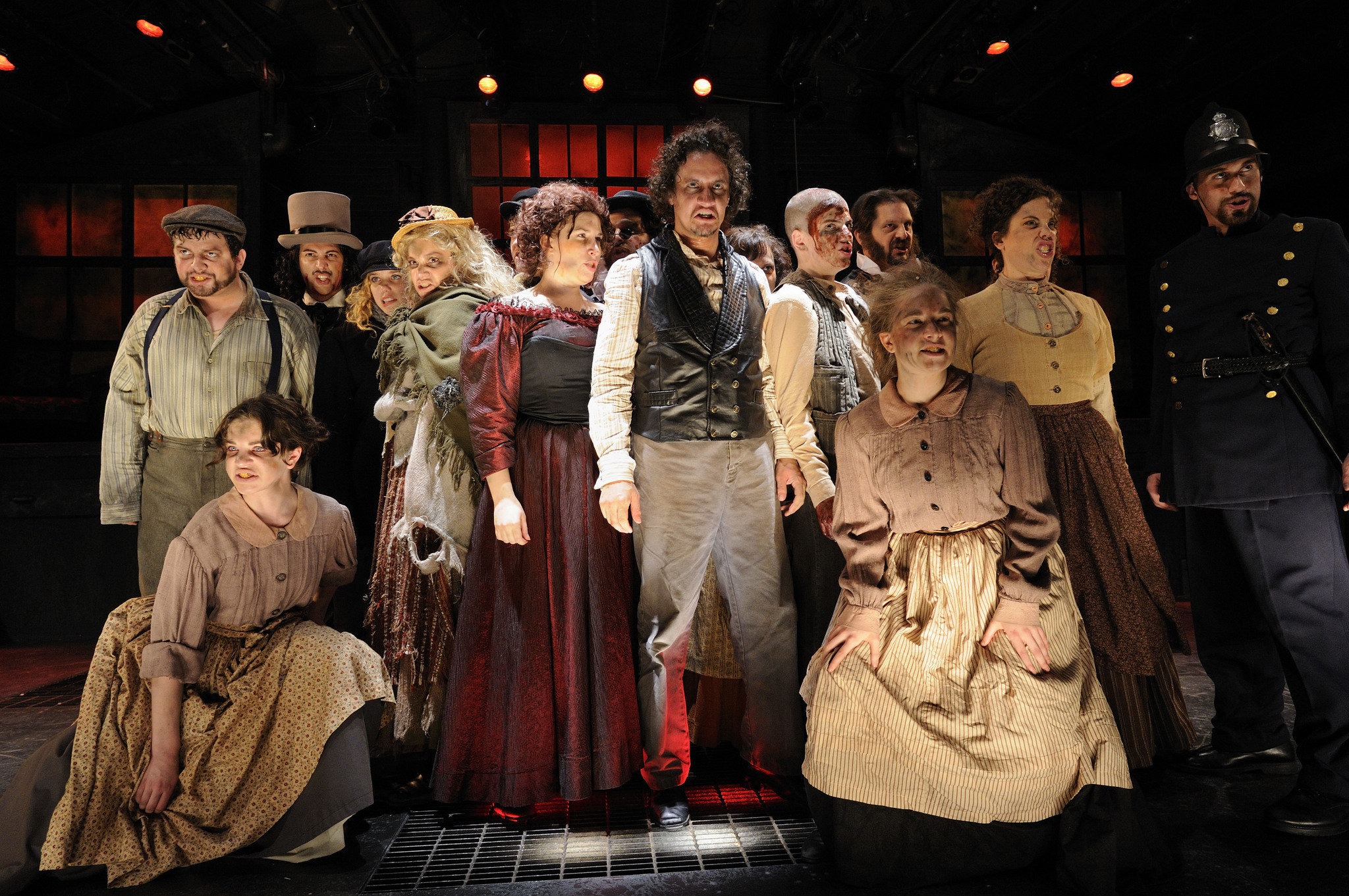 Character Design Jobs Nyc : Sweeney todd the view from stage